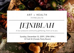 [E]NIBLAH Gathering _ Sun, Dec 15, 2019 1